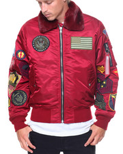 SMOKE RISE - Patch MA1 Bomber
