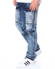 Jeans - Cargo Front Oil Stan Jeans