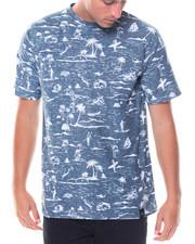 Men - S/S Surf Print Tee
