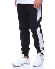 MC SQUARED - Contrast Panels Fleece Jogger