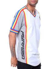 T-Shirts - Nautical Multi Stripe S/S Tee