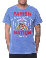 Parish - S/S Applique Tiger Tee