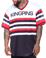 Men - S/S Kingspin V-neck Tee (B&T)