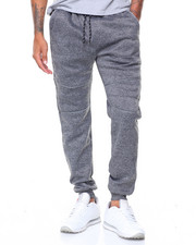 Men - Fleece Reflective Sweatpants