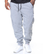 Men - Fleece Jogger Zipper Trim (B&T)