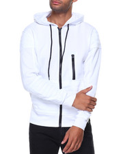 Men - Quilted Fleece Hoody