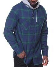 Long-Sleeve - Parker Flannel Hoodie