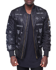 Men - All Over Oriental Print Jacket