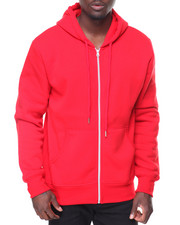 Men - Mens Fleece Full Zip Hooded Sweatshirt