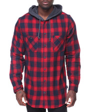 Shirts - Parker Flannel Hoodie