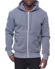 Buyers Picks - Mens Fleece Full Zip Hooded Sweatshirt