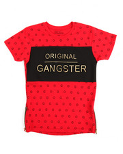 Boys - S/S Original Gangster Crew Neck Tee (8-20)