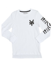 Boys - L/S Double Up Tee (8-20)