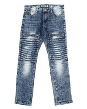 Arcade Styles - Pleated  Jeans (8-20)