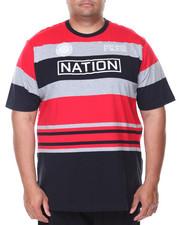 Shirts - S/S Yarn Dye Tee (B&T)