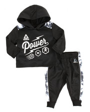 Reebok - Popover Hoody & Jogger Set (Infant)