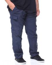 Men - Twill Heavy Wash Cargo Pants (B&T)