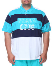 Shirts - S/S Color Block Polo (B&T)