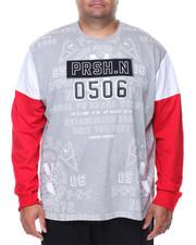 T-Shirts - L/S Printed Tee (B&T)