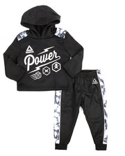 Sizes 2T-4T - Toddler - Popover Hoody & Jogger Set (2T-4T)