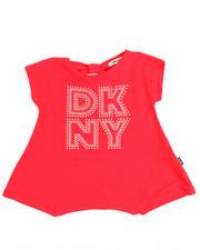 Tops - Bow Back DKNY Tee (2T-4T)