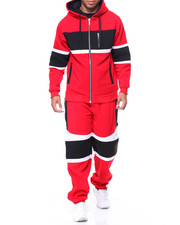 Men - Moto Fleece Suit Set