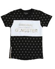 Arcade Styles - S/S Original Gangster Crew Neck Tee (8-20)