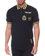 Men - Luitenant Embroidered Collar Polo