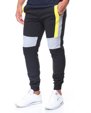 Men - Color Block Joggers