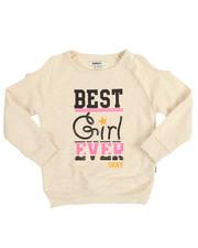 Tops - Best Girl Ever Cold Shoulder Top (4-6X)