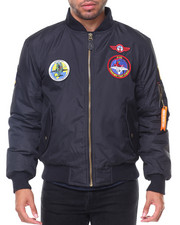 Buyers Picks - Patches Aviator MA1 Jacket