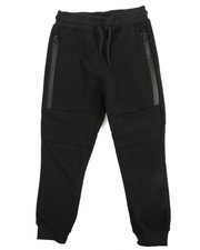 Sweatpants - Zipper Fleece Jogger (4-7)