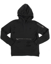 Arcade Styles - French Terry Thrasher Pullover Hoodie (8-20)