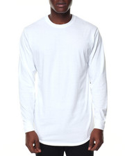 Buyers Picks - Mens Crew Neck Long Tail Tee