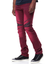 Jeans & Pants - Biker Twill Pants