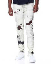 Buyers Picks - Blow Out Knee Zip Trim Jeans