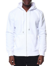 Buyers Picks - Mens Fleece Full Zip Hooded Sweatshirt