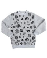Boys - L/S Fleece Printed Pullover Sweatshirt (8-20)