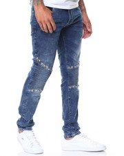 Buyers Picks - Clapton Studs Trimmed Ultra Skinny Biker Jean