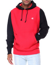 Champion - Reverse Weave Colorblock Hood