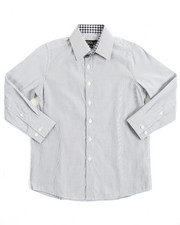 Button-downs - L/S Stripe Woven (8-20)