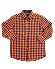 Button-downs - L/S Printed Woven (8-20)