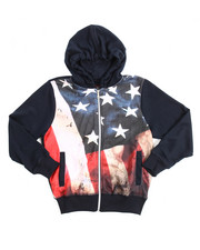 Hoodies - L/S French Terry Sublimation Hoodie (8-20)