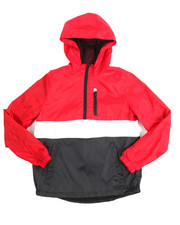 Outerwear - Color Block Anorak Jacket (8-20)