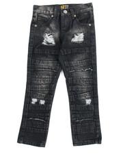 Bottoms - Fashion Cut/Sew Jeans (4-7)