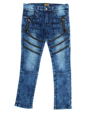 Arcade Styles - Fashion Cut/Sew Zipper Jean (8-20)