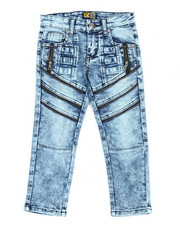 Arcade Styles - Fashion Cut/Sew Zipper Jean (4-7)