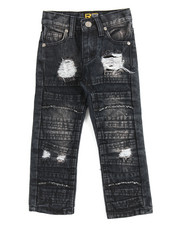Bottoms - Fashion Cut/Sew Jeans (2T-4T)