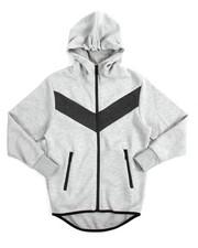 Sizes 8-20 - Big Kids - Tech Fleece Full Zip Hoodie (8-20)