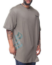 Rocawear - S/S Transfer Knit V-neck Tee (B&T)